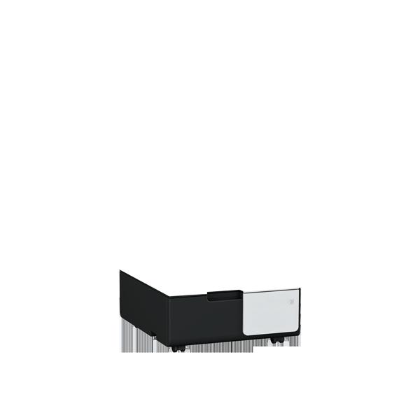 2 papierlades + onderzetkast